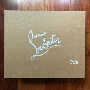 Christian Louboutin Shoe Box / Gift Box